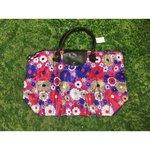 Flower folding handbag