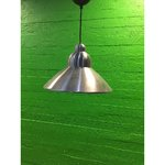 Silver small 1-capped ceiling light