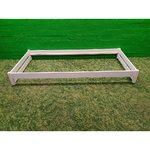 White Small Solid Wood Bed (200x90)