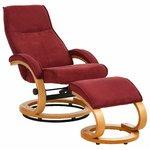 Пурпурное плетеное кресло в змее