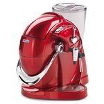 Red Caffitaly S01HS capsule coffee maker with milk foam