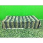 Roheline sametiga täispikk voodikate