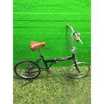 Puudulik must kokkupandav jalgratas