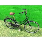 Spare part for black retro bicycle