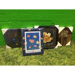 A selection of small canvas or framed pictures