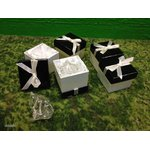 Set of silver napkin holders