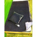 Fabric Coppenhaagen sinine padja ja pleedi komplekt, kasutamata