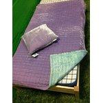 Fabric Coppenhaagen lilla padja ja pleedi komplekt, kasutamata