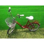 Punane jalgratas Classic Funk 6 Mini