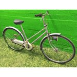 Silver Retro Bike Betty
