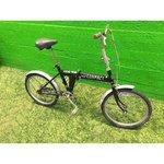 Black Folding Compact Fuji Compact Bike