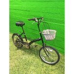 Defective small black bicycle 6-speed