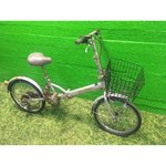 Defective folding bicycle 6-speed