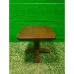 Маленький стол из твердой древесины