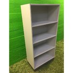 Light gray shelf