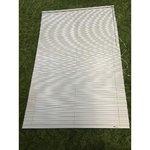 Valge ribakardin 120x180