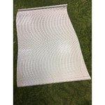 Puudulik valge ribakardin 120x180
