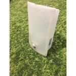 Valge plastikust seinalamp liikumisanduriga