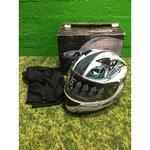 Белый мотоциклетный шлем Nitro (M)