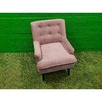 Pink Sametic krēsls