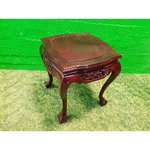 A small new-antique sofa table