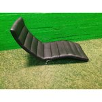 Black leather upholstery (boconcept)