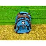 Blue backpack (weideli)