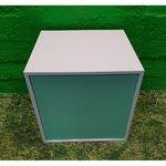 Бело-зеленый маленький шкафчик (ramwerk)