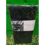 Black Panel Curtain Moltex (45x230cm) (2pcs)