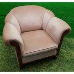 Beige armchair