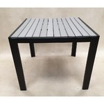 Gray-black garden table (code)
