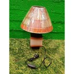 Малая цветная настольная лампа