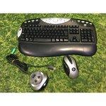 Logitech Y-RJ20 juhtmevaba hiire ja klaviatuuri komplekt