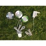 Kolme süvistatava lambi komplekt