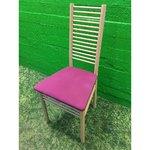Puidust tool lilla pehme istmega