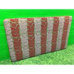 Large red-pink design, bed rest, Paroness