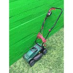 Electrical lawn mower Qualcast M2E1232M without a cartridge