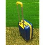 Väike kollane-sinine pardakohver