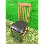 Helepruun täispuit tammest tool (Terve)